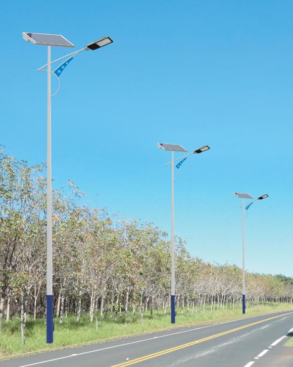 贵州省遵义市132套太阳能路灯项目施工纪实