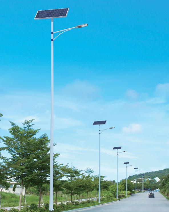 贵州省都匀市115盏新建设太阳能路灯项目施工纪实