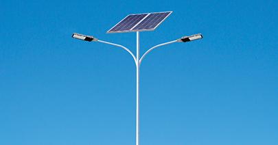太阳能路灯构件组成部分