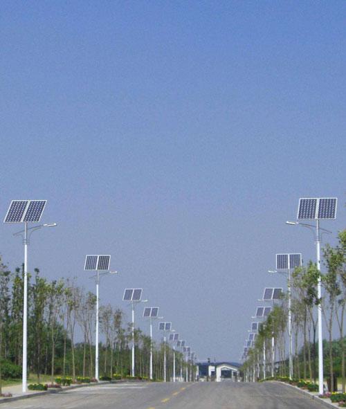 海南省东方市太阳能路灯工程纪实