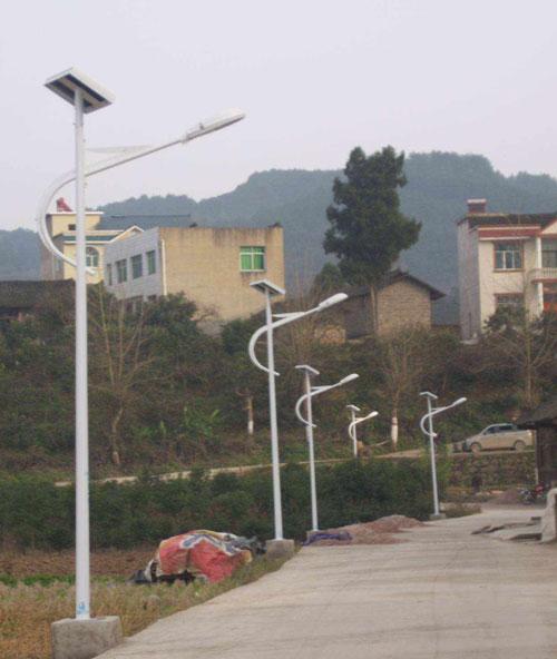 柳州市融水苗族自治县农村太阳能路灯工程纪实