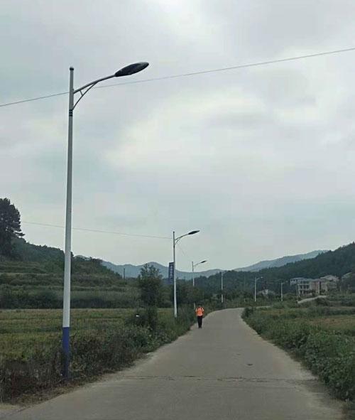 广西桂林市农村led路灯工程案例