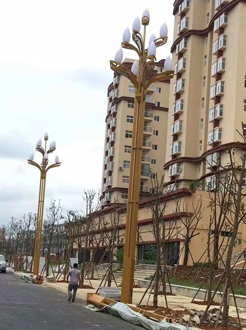 贵州省黔西南州兴义市玉兰灯道路工程案例