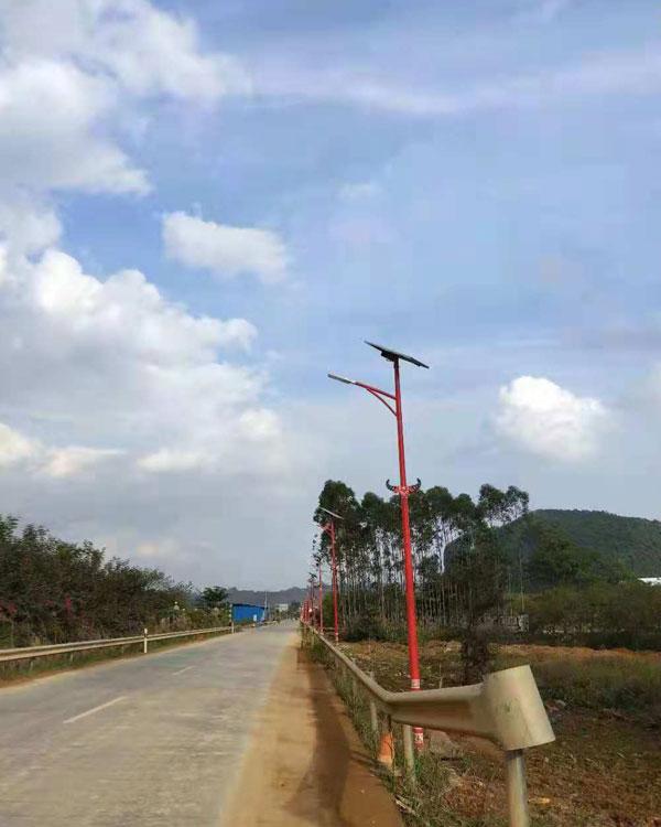 连州市瑶族特色路灯工程
