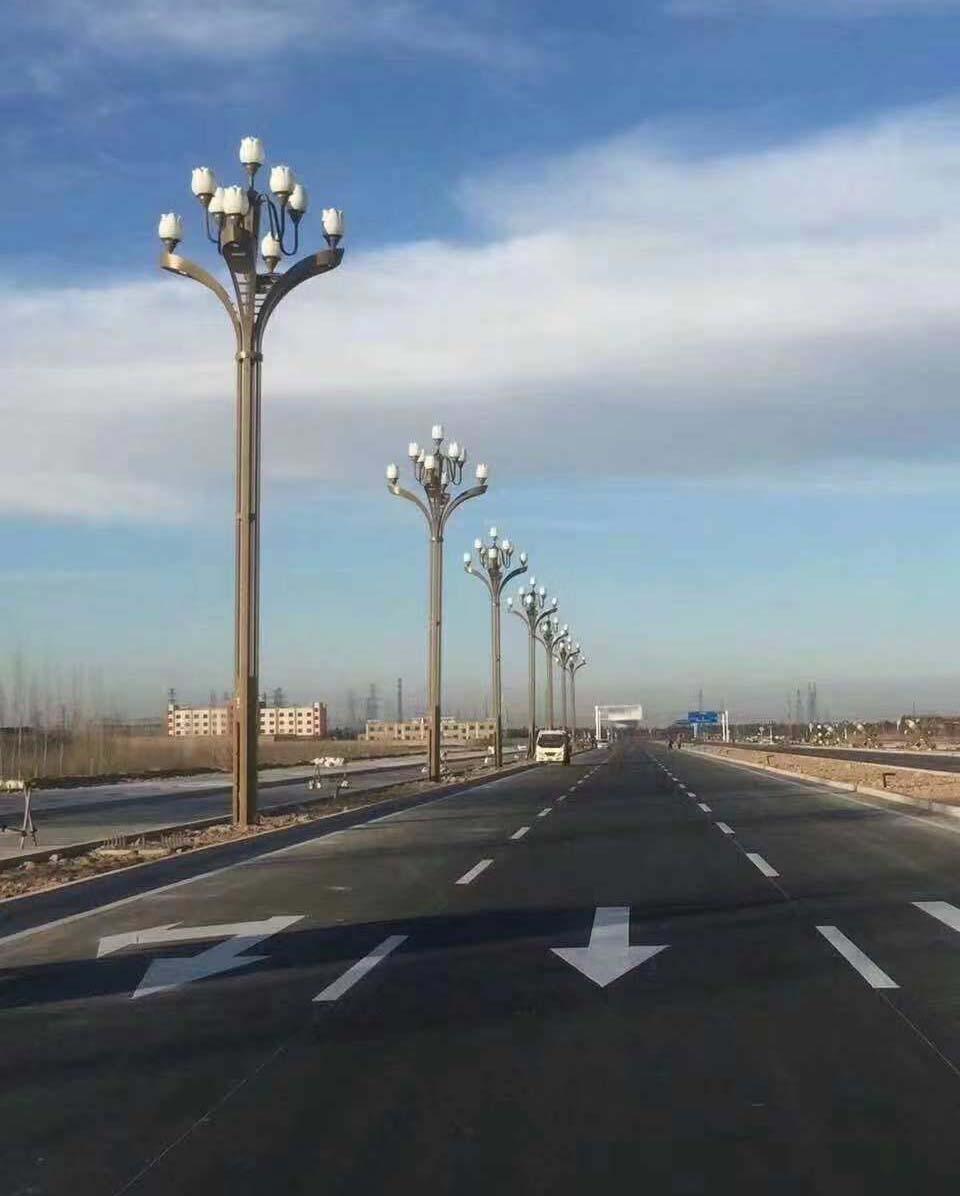云南昆明市玉兰灯工程