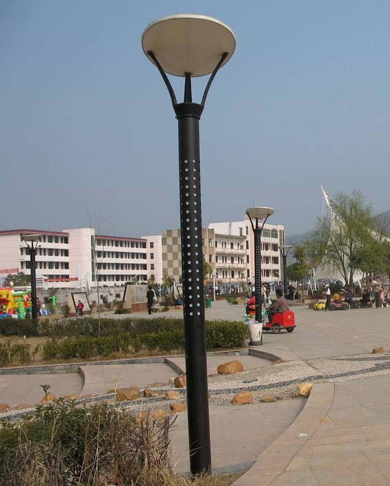 云南省西双版纳市公园路灯纪实