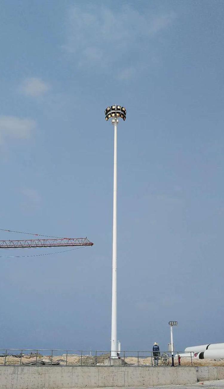 广西钦州市高杆路灯