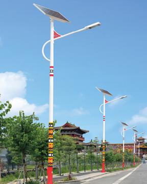 民族风太阳能路灯 BK-3203
