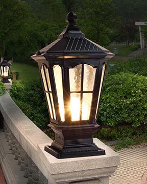 柱头灯 复古柱头灯