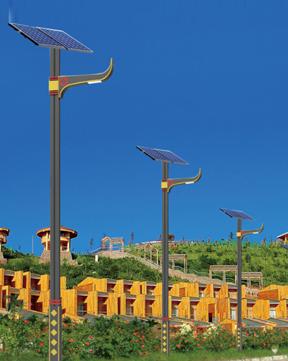 民族风太阳能路灯 BK-3103