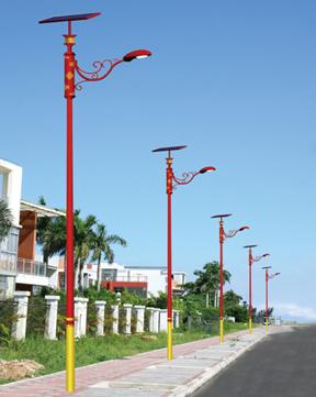 民族风太阳能路灯 BK-3302