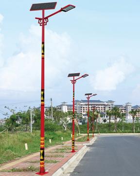 民族风太阳能路灯 BK-3304