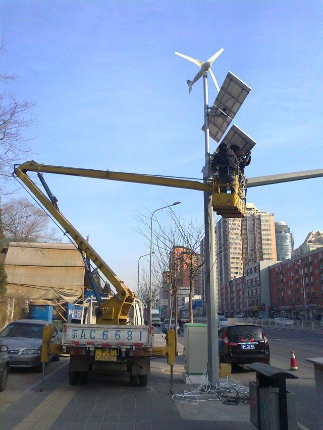 太阳能路灯改造