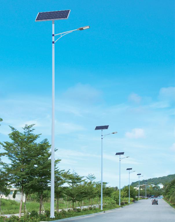 城镇太阳能路灯